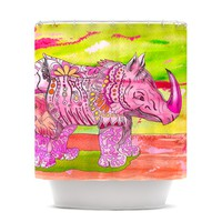 """Catherine Holcombe """"Pretty in Pink"""" Shower Curtain"""
