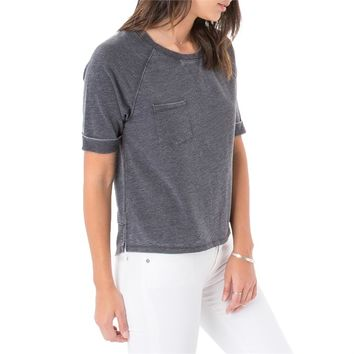 Z Supply Short Sleeve Raglan Pullover Sweatshirt - Women's