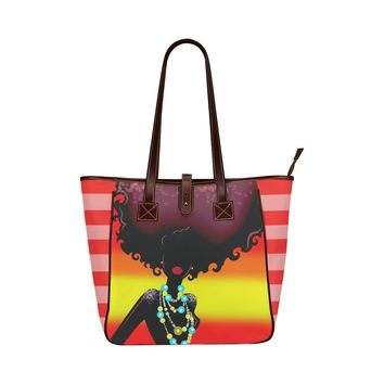 Black Radiance Classic Tote Bag
