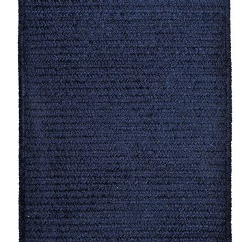 Colonial Mills Simple Chenille M503 Navy Kids/Teen Area Rug