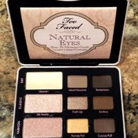 NEW EUROPEAN COLLECTION Too Faced Natural Eyes Shadow Palette 9 Colors
