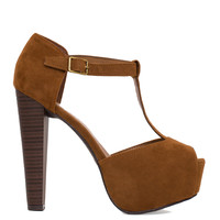 Eliza Heels - Brown