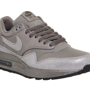 Nike Air Max 1 (l) Silver Burnt Metal - Hers trainers