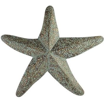 Wrought Iron Starfish Wall Decor