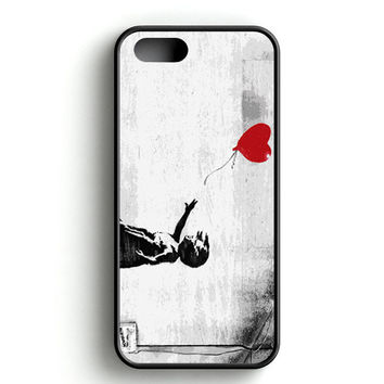 Banksy Balloon Girl Love iPhone 4s iPhone 5s iPhone 5c iPhone SE iPhone 6|6s iPhone 6|6s Plus Case