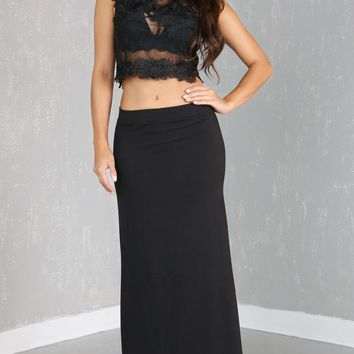 Just Think Of Me Maxi Skirt