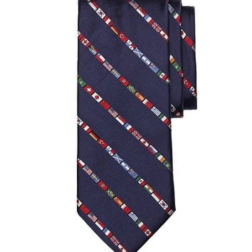Men's Flags of the World Tie