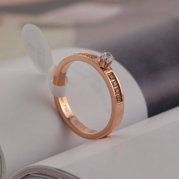 New Arrival Stylish Jewelry Gift Shiny Gifts Couple Titanium Ring [6411769860]
