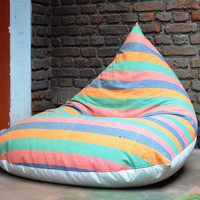 Handloom Bean Bag Chair