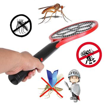 Mosquito Insect  Pest Bug Fly Mosquito Zapper Swatter Killer-Electric Racket.