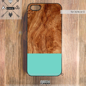 Wood Effect iPhone 5 Case Wood Effect iPhone 4 & by casesbycsera