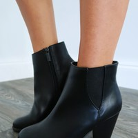 Back For Good Booties: Black