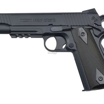 COLT CO2 POWERED 1911 RAIL GUN AIRSOFT PISTOL