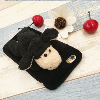 Cute Black Sheep Dolls Case for iPhone 5s 6 6s Plus Gift 09