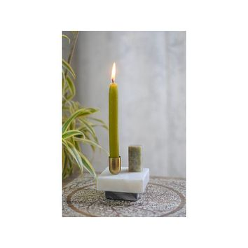 Marble Abstract Candle Holder for Taper Candles