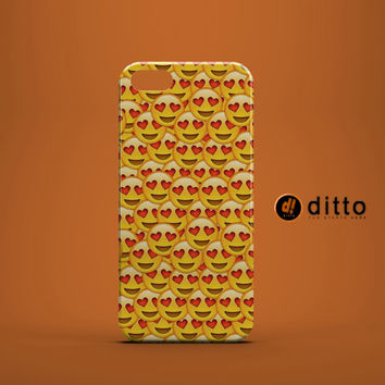 EMOJI IN LOVE Design Custom Case by ditto! for iPhone 6 6 Plus iPhone 5 5s 5c iPhone 4 4s Samsung Galaxy s3 s4 & s5 and Note 2 3 4
