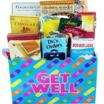 Art of Appreciation Gift Baskets  Get Well Soon Band Aid Care Package Gift Box
