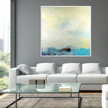 Extra large abstract painting, modern abstract colorful painting, original acrylic abstract art, abstract modern wall art