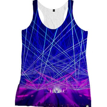 RUKES Death By Lazers Women's Tank