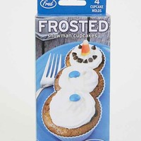 Frosted Snowman Cupcake Mold Set- Multi One