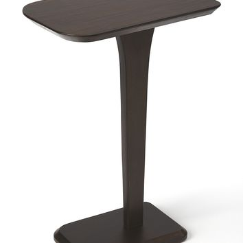 Patton Cocoa Brown Pedestal Table