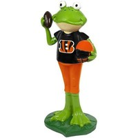 Cincinnati Bengals Frog Player Figurine