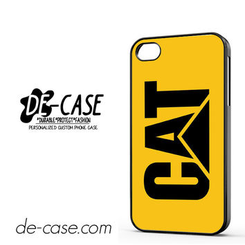 Yellow Caterpillar Logo DEAL-12123 Apple Phonecase Cover For Iphone 4 / Iphone 4S