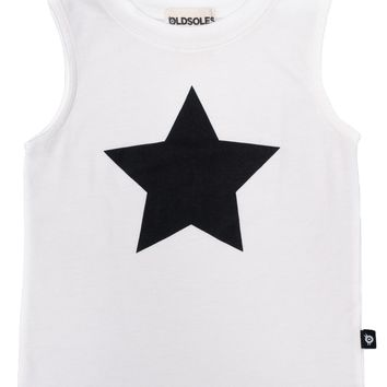 Old Soles Starry Night Tank White