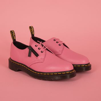 Dr. Martens 1461 W/Zip Soft Pink Aunt Sally Shoe - Everything - Categories - Womens