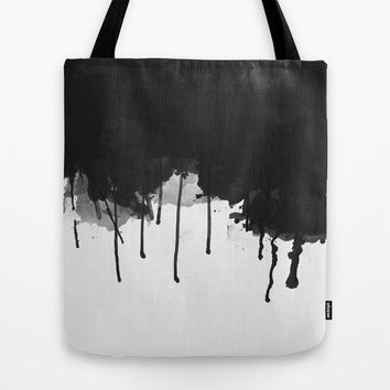 Spilled Ink Tote Bag by All Is One