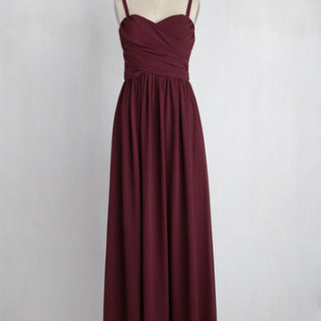Don Your Honor Maxi Dress | Mod Retro Vintage Dresses | ModCloth.com