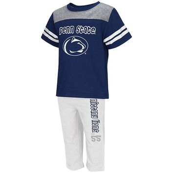 Penn State Nittany Lions Passer Tee & Pants Set - Toddler, Size: