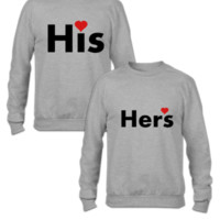 his and hers couple matching couple hoodie - Couple Sweatshirt