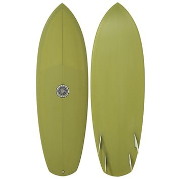 "Tyler Warren 5'6"" TC Surfboard"