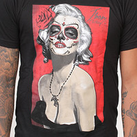 Jbon Clothing La Bella Muerta Tee Black