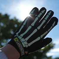 Landyachtz Bones Glow In The Dark Slide Gloves