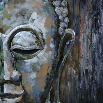 Buddha Face Wall Decor