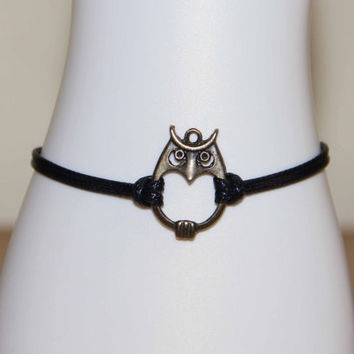 owl bracelet anklet summer trending simple fashion friendship graduation gifts