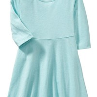 Old Navy Jersey Fit & Flare Dress For Baby