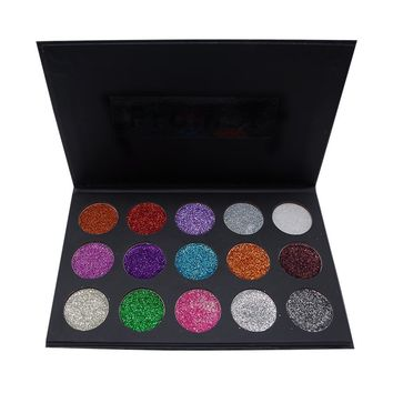 Morphe Make-up Beauty Professional Stylish 15-color Eye Shadow Matt Make-up Palette [501354168335]