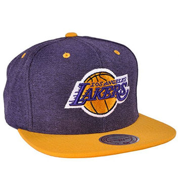 7f75b8d5a6f Los Angeles Lakers Team NBA Sport Mitchell Ness Denim Harry 2 To
