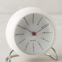 Banker's Clock by Anthropologie in White Size: One Size Clocks