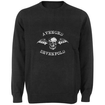 avenged sevenfold sweater Black and White Sweatshirt Crewneck Men or Women for Unisex Size with variant colour