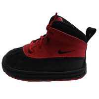 Nike Boy's Woodside 2 High PS Black/Red Boots 524873 601