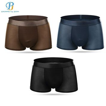 3pcs/lot Chenke Men Underwear Boxers Breathable Sexy Spandex Men Underwear Low Cost Homosexual Angle Boxer Shorts Panties