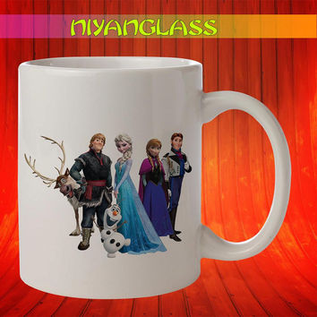 Frozen Family mug, Frozen Family cup, Frozen Family disney,  personalized cup, funny mugs, birthday ceramic mug