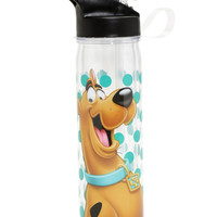 Scooby Doo Blue Polka Dot Water Bottle