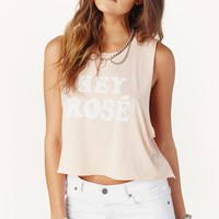 HEY ROSE CROP TANK