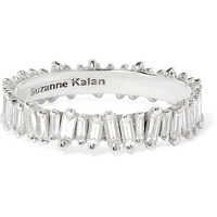 Suzanne Kalan - 18-karat white gold diamond ring