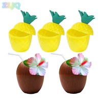 ZLJQ Pineapple Coconut Cup With 1pc